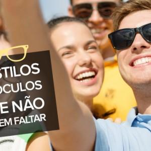 5 Estilos de óculos de sol que não podem faltar