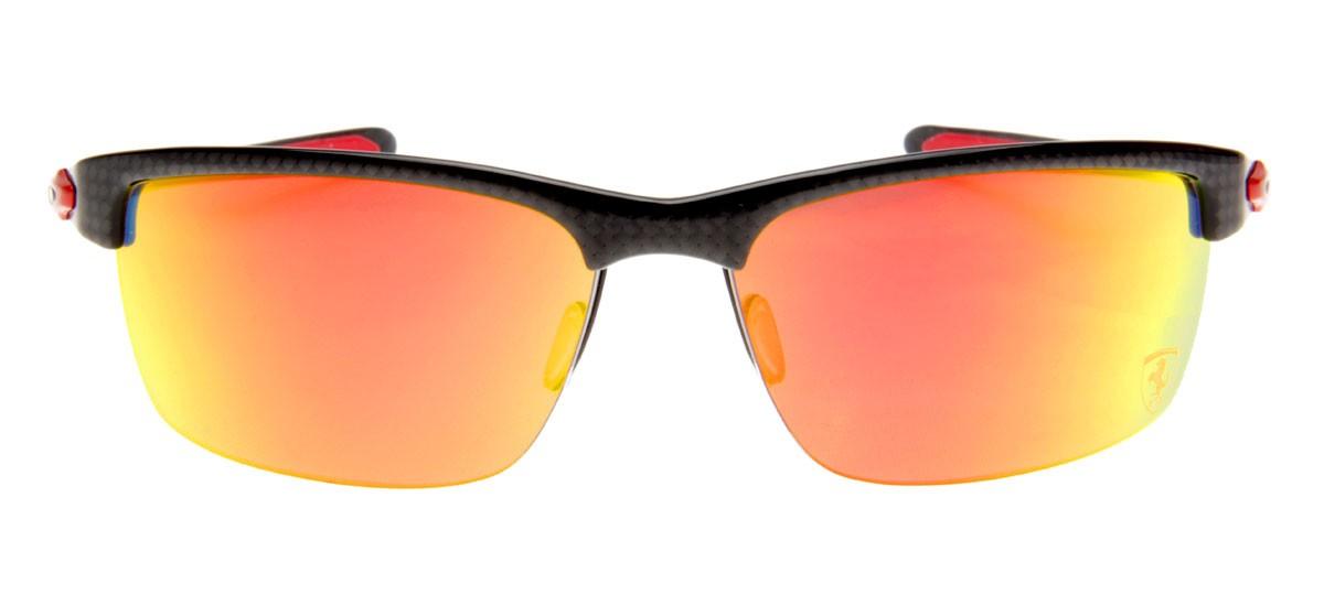 Oakley Carbon Blade Redondo - Lente Espelhada Vermelha - QÓculos.com effc1bca43