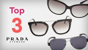 Top 3 Óculos Mais Vendidos Prada