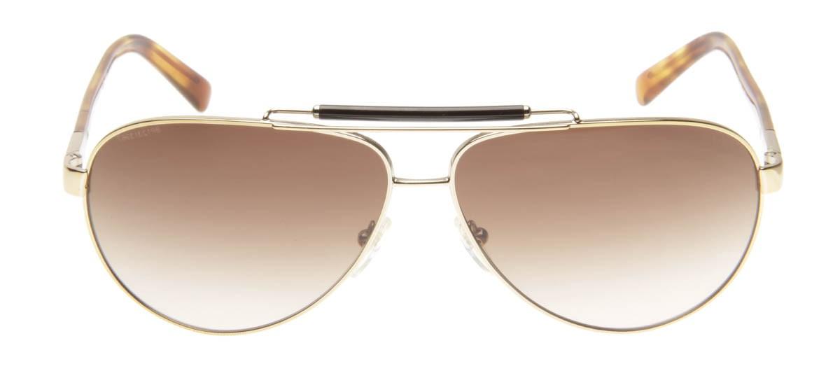 f32d2b96a03ff Prada SPR54N - Óculos de Sol Prada Aviador Dourado