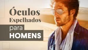 Óculos de Sol Espelhados para Homens