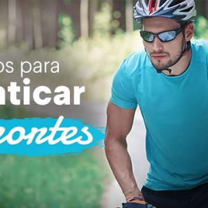 Óculos para praticar esportes