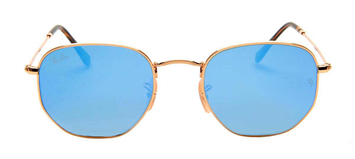óculos De Sol Ray-ban Hexagonal Dourado   Green Communities Canada 3c17c8b798