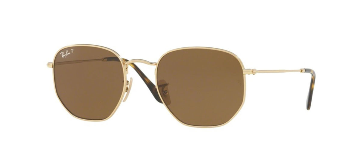 0b49899c73868 Ray Ban Hexagonal Preto E Dourado   David Simchi-Levi