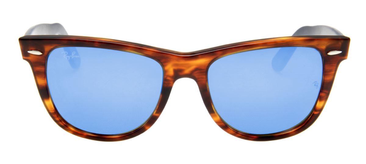 3e51578f1663b Oculos Ray Ban Original Wayfarer Rb2140-29 Azule Preto   gallosalame.com