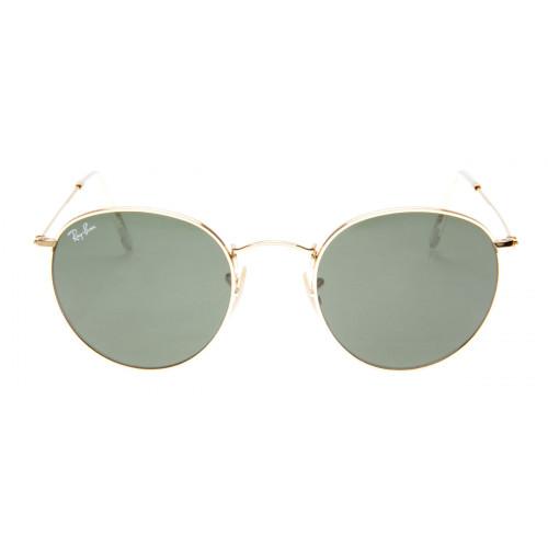 Óculos Ray-Ban Round Dourado Lentes G15