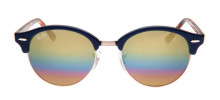 Ray-Ban RB4246 Clubround 51 - Azul - 1223/C4 - 8053672732801