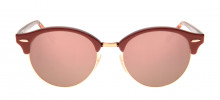 Ray-Ban RB4246 Clubround 51 - Terracota e Rosa - 1220/7O - 8053672732771