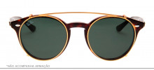 Ray-Ban Clip-On RB2180-C 49 - Dourado - 2500/71 - 8053672689426