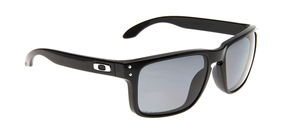 Óculos Modelo Oakley Holbrook Tamanho 55 com armação Preto