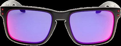 Óculos Oakley Holbrook Branco Fosco Violet Iridium