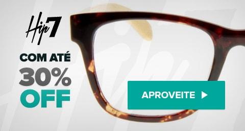 Óculos Hip7 com Até 30% de Desconto