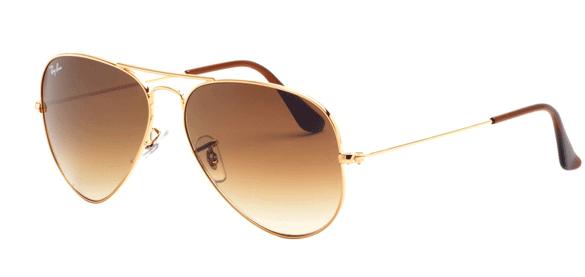 bf9ce40a41165 ... Armação de Óculos em Metal Estilo Aviador Zoom