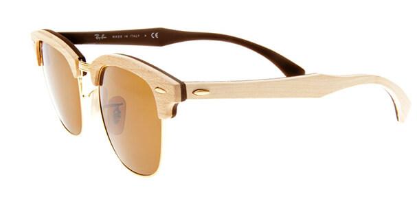 a7a139364 ... Armação de Óculos em Madeira Estilo Clubmaster Zoom