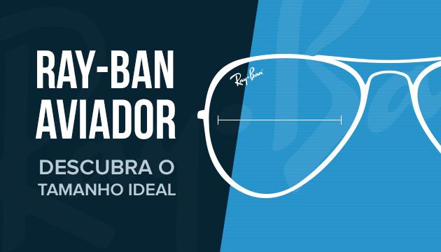 Tire suas dúvidas! Descubra o tamanho ideal do óculos Ray-Ban ... efa56e4aad