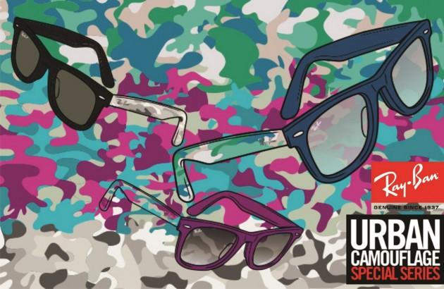 fd0467f248 Ray-Ban – Wayfarer Camuflagem Urbana - QÓculosQÓculos