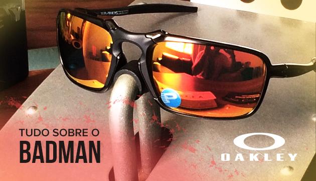 87d3a4e0cb565 Tudo sobre o Óculos Oakley Bad Man