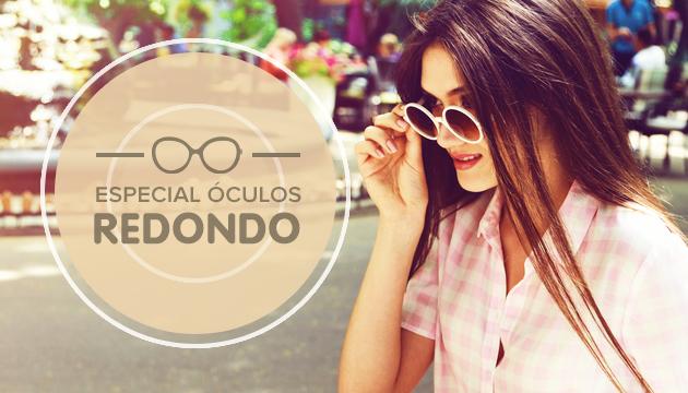 Chegou e Virou tendência, Especial Óculos redondos! - QÓculosQÓculos 1bbae1aaa8