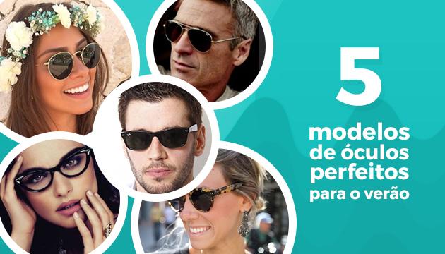 ee5c9e667 Óculos Verão - 5 Óculos de Sol Perfeitos para o VerãoQÓculos