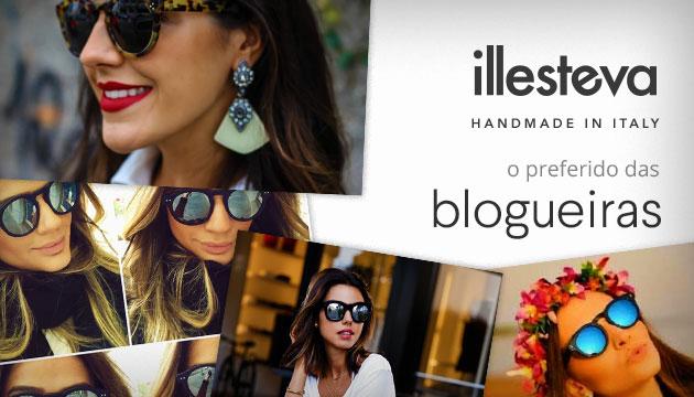 Illesteva - O preferido das blogueiras - QÓculosQÓculos c170dcaa2b