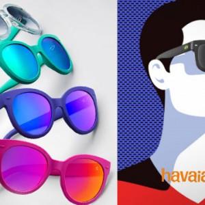 9b41bf590 Colcci: brasileira com traços internacionais · Havaianas lança coleção de  óculos de sol