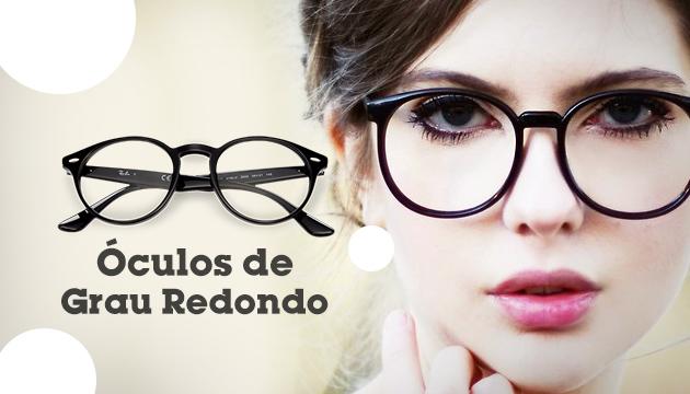 cf9a7539b Óculos de grau redondos - QÓculosQÓculos