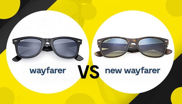 As diferenças entre Wayfarer e o New Wayfarer - QÓculosQÓculos 9f422f7479