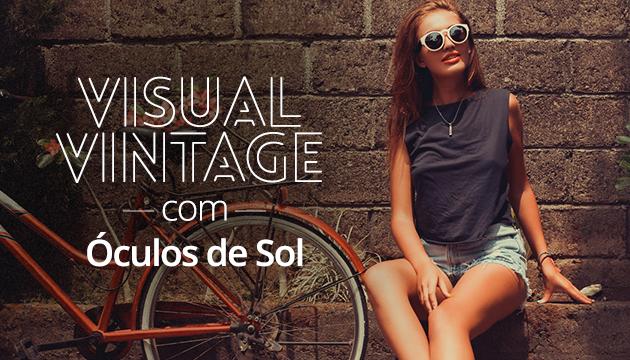 Óculos estilo vintage
