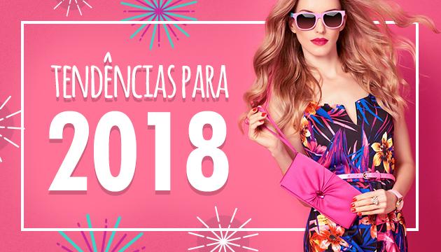 Tendências de óculos para 2018