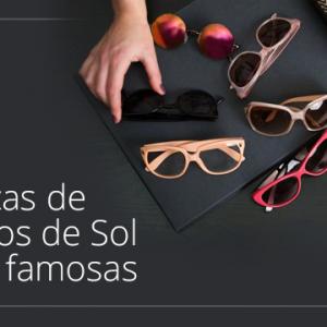 Marcas de Óculos de Sol mais Famosas