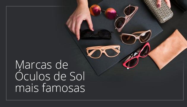 3715c4481e47e Marcas de Óculos de Sol mais Famosas - QÓculosQÓculos