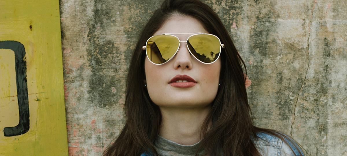 7af921558 Óculos feminino para rosto redondo: 3 modelos ideais - QÓculosQÓculos