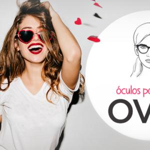 Óculos para rosto oval feminino – Inspire-se