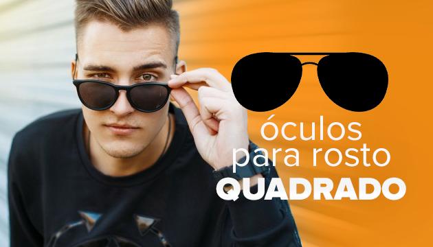 Óculos para rosto quadrado – Descubra o seu!