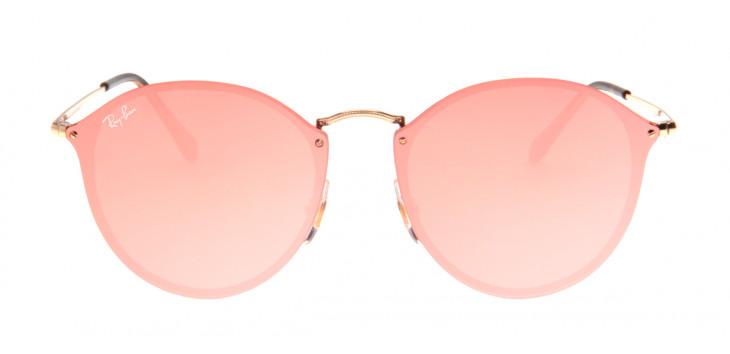 Óculos para rosto triangular