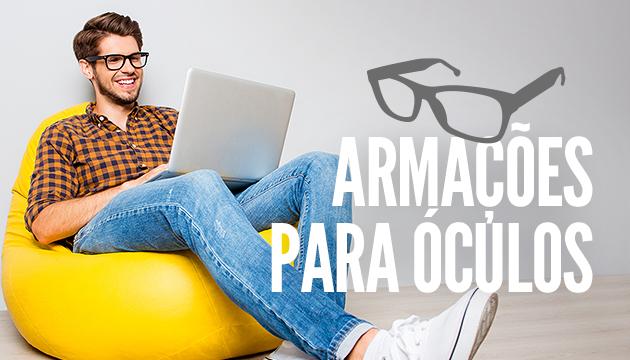 fc80aab89249e Armações para óculos  conheça os mais usados - QÓculosQÓculos