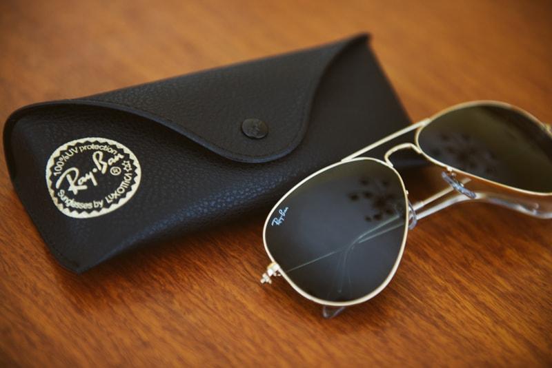 como guardar óculos de sol