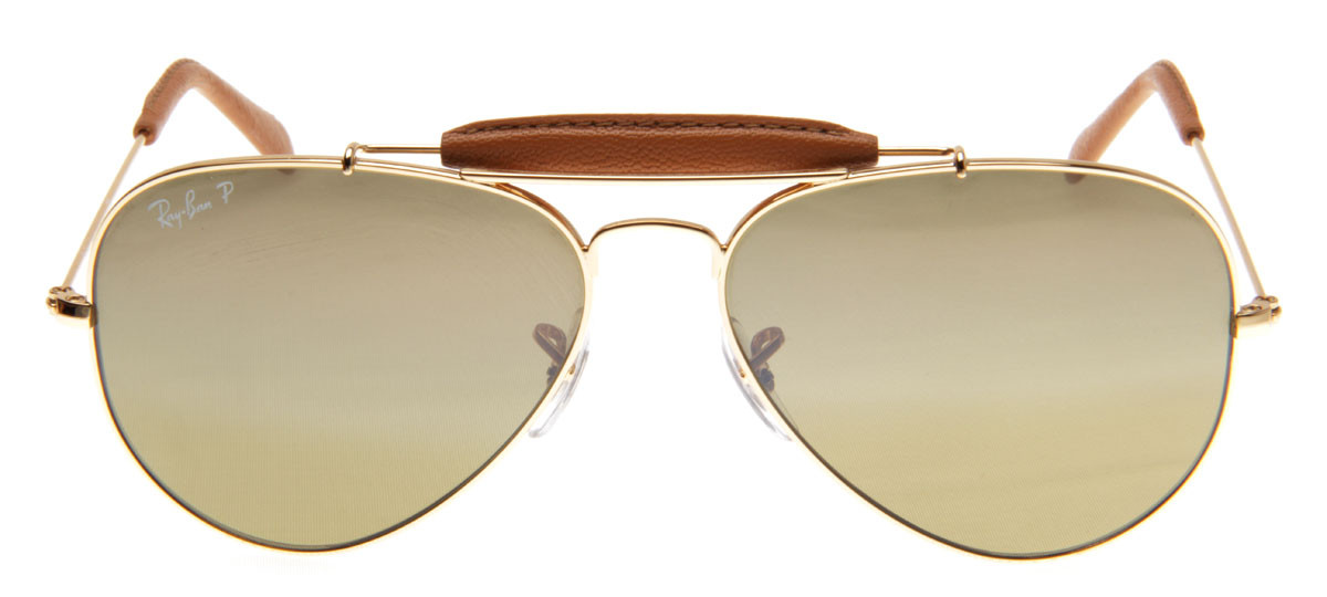 e4f8c3a91b6a6 Ray-Ban RB3422Q 58 - Craft - Dourado e Couro - 001 M9. Loading zoom. Ray-Ban  ...