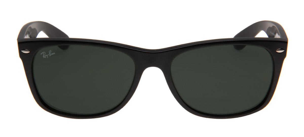 f9314a33a Óculos Wayfarer - Ray-Ban New Wayfarer Preto Fosco RB2132 - QÓculos.com