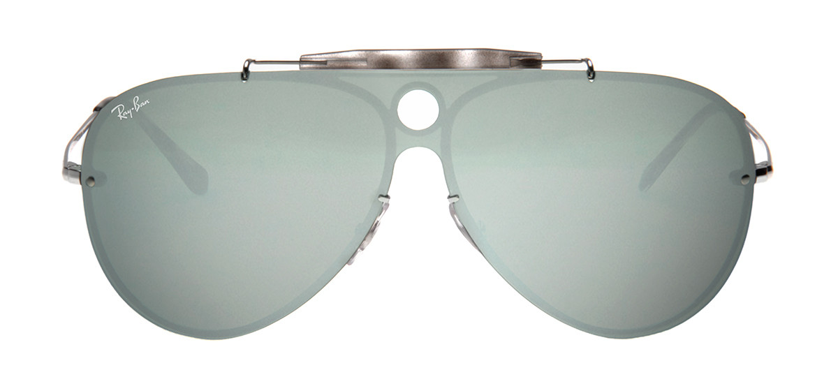 0f987609a059f Óculos Ray-Ban Hexagonal Prata - Óculos de Sol Ray-Ban RB3581-N ...