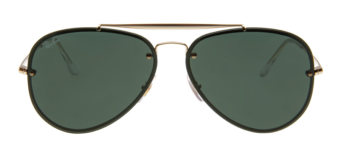 1ab841b018154 Óculos Ray-Ban Hexagonal Dourado - Óculos de Sol Ray-Ban RB3584-N ...