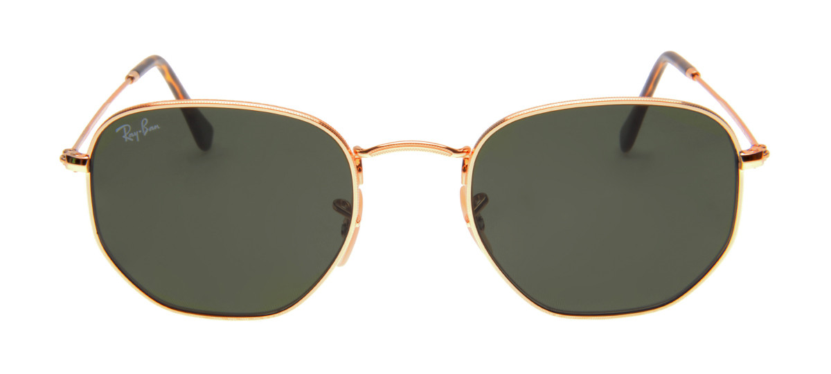 607616899daa5 Óculos Ray-Ban - Óculos Hexagonal Dourado em 12x SEM JUROS