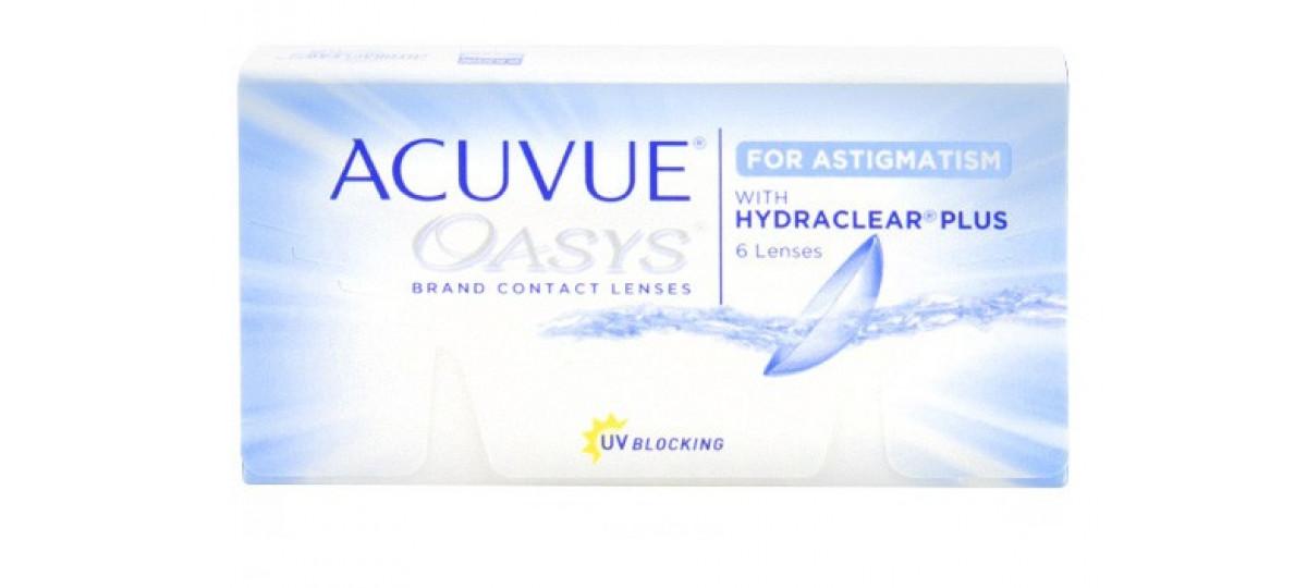 ... Acuvue Oasys Astigmatismo - Incolor. Lentes de Contato Johnson   Johnson 3c45a8c0eb