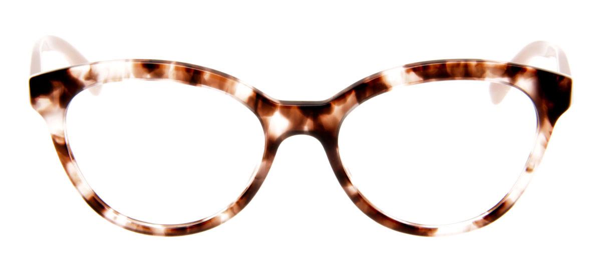 a814fb1608885 Óculos Prada Gatinho - Armação de Óculos Tartaruga e Rosa - VPR 11R.  Loading zoom. Óculos Prada Gatinho ...
