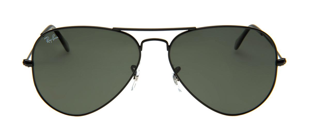 Óculos de Sol Aviador Preto Fosco. Disponível também em outras cores. Ray-Ban  RB3025 ... 6fb1ce7630