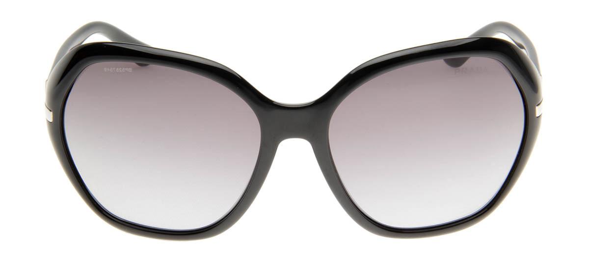 ... 7ae8546fa96 Prada SPR14N - Óculos de Sol Prada Feminino Preto QÓculos  .. ... 1007c40091