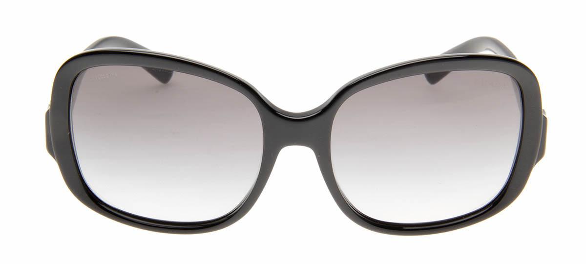 Prada SPR17N - Óculos de Sol Prada Quadrado Preto   QÓculos ... d142e0966a