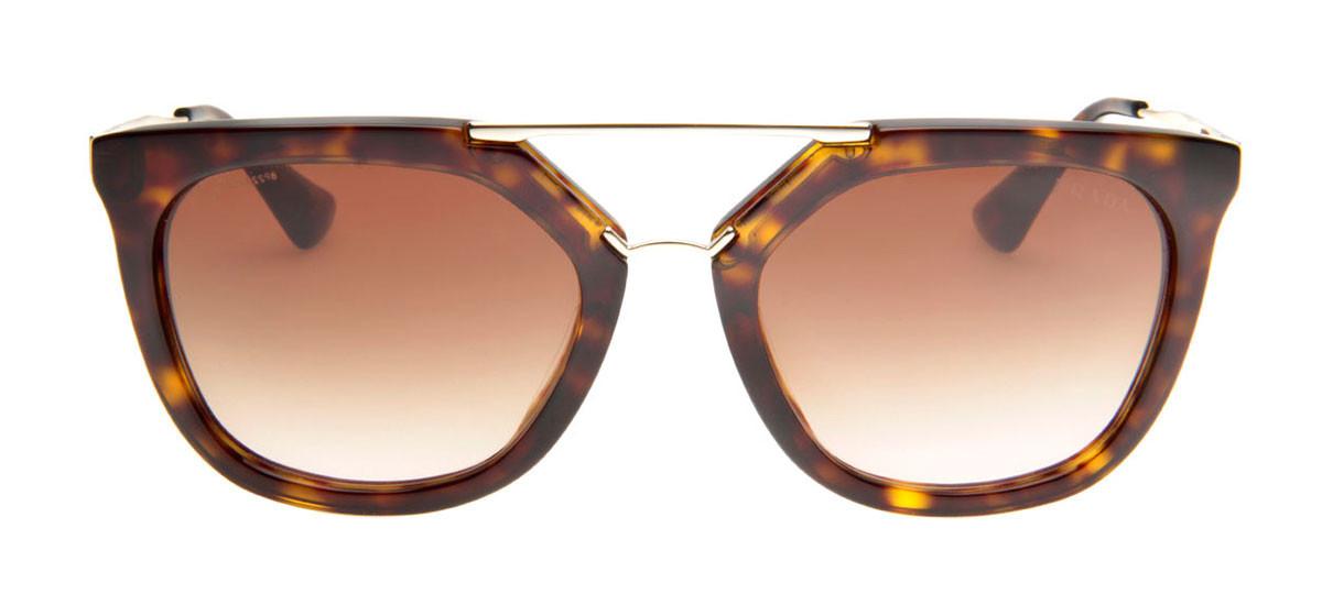 e6b3b3ab8fe77 Óculos de Sol Prada SPR13Q Tartaruga Lentes Degradê. Loading zoom