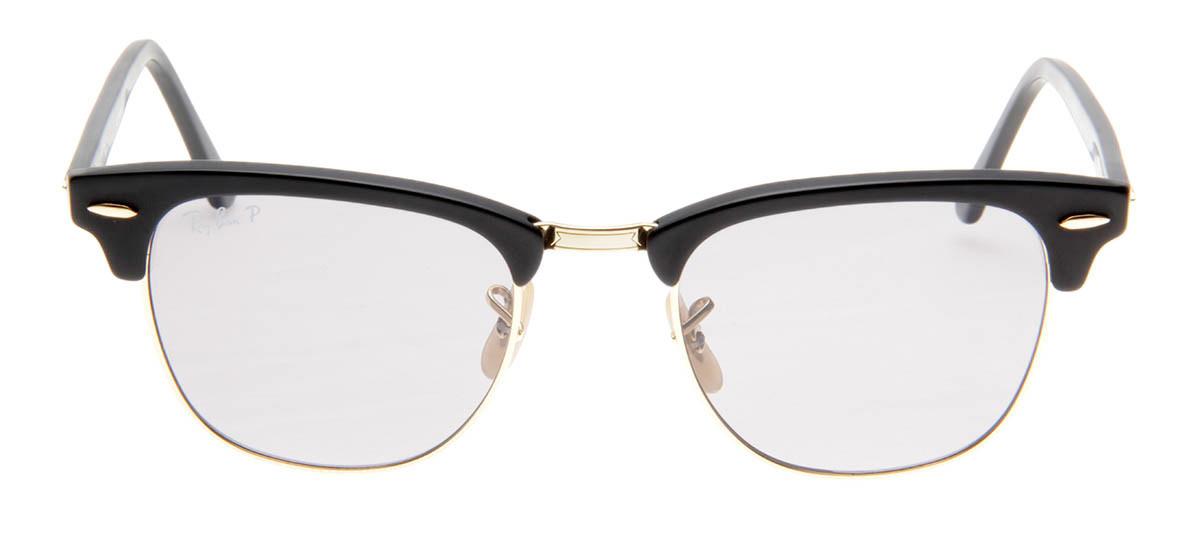 Óculos de Sol Ray Ban Clubmaster Preto Fosco Lente Polarizada. Loading zoom c5283af60b