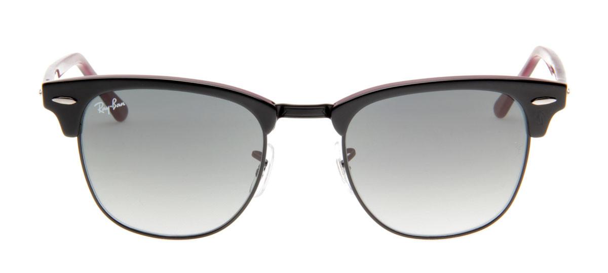 Loading zoom. Óculos de Sol Ray Ban Clubmaster Wayfarer Preto Bordô. Óculos  Ray Ban Clubmaster Wayfarer Preto Bordô Lente Cristal 9cdc5317ef
